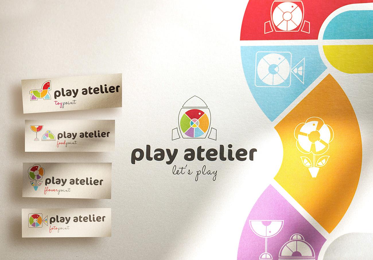 play atelier logo design