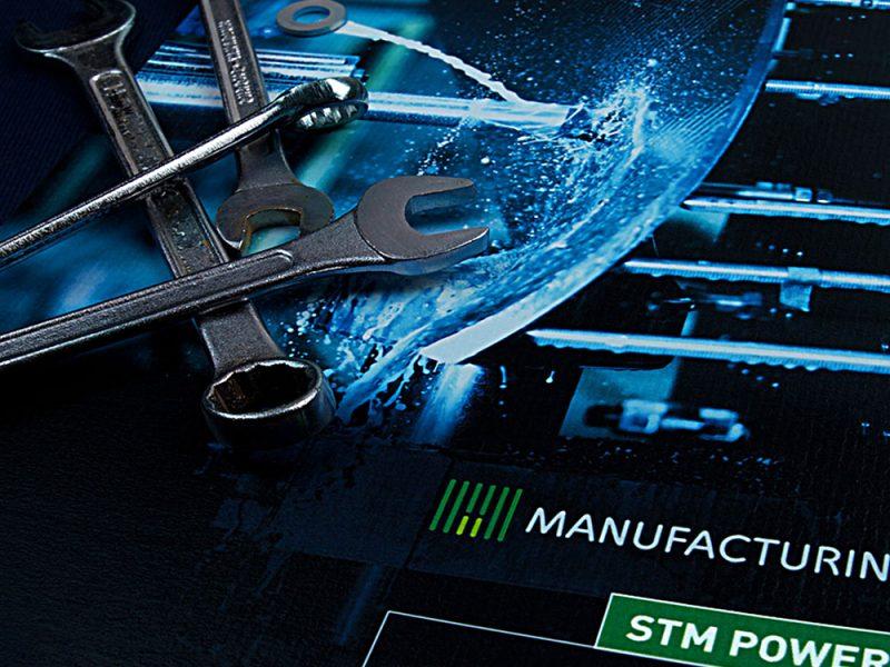 STM-POWER branding