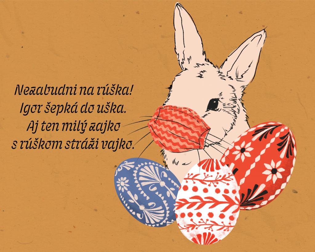 zajac s ruskou