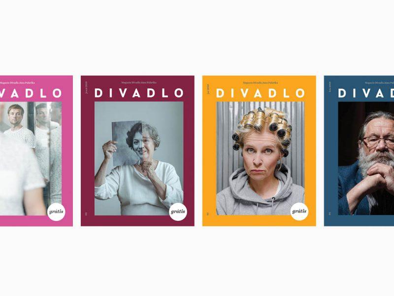 grafický dizajn - magazin DIVADLO